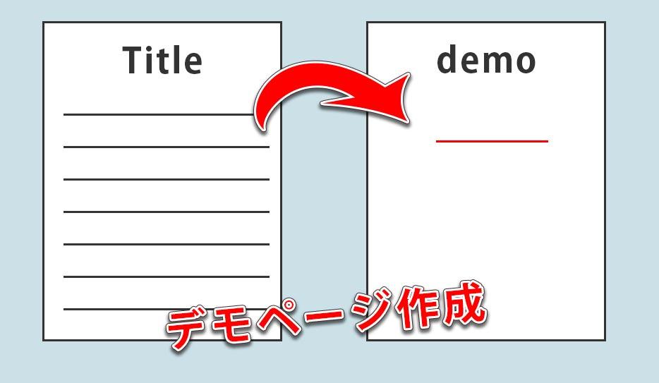 WordPressでコードの表示確認をするデモページを作る方法