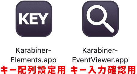 Karabiner-Elementsの画像