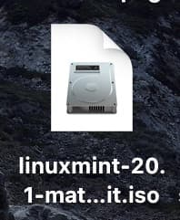 linuxmint isoイメージ