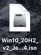 windows10のisoファイル